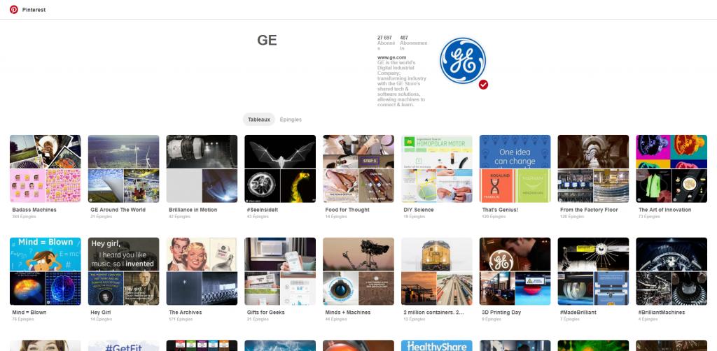 GE (generalelectric) sur Pinterest