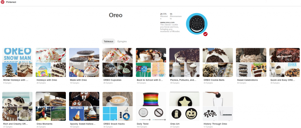 Oreo (oreo) sur Pinterest