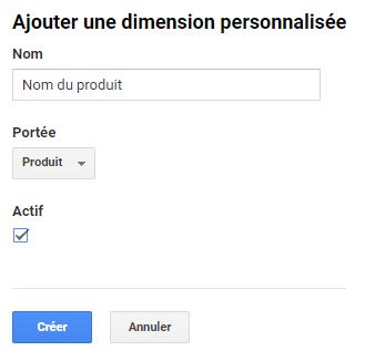 Dimension personalisée