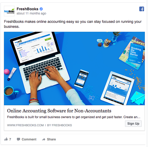 freshbooks-facebook-ad-example