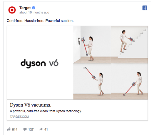 target-facebook-ad-example
