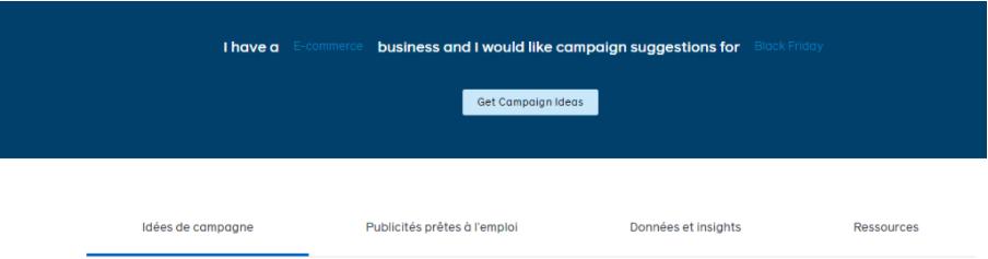 Idées campagnes Facebook 2