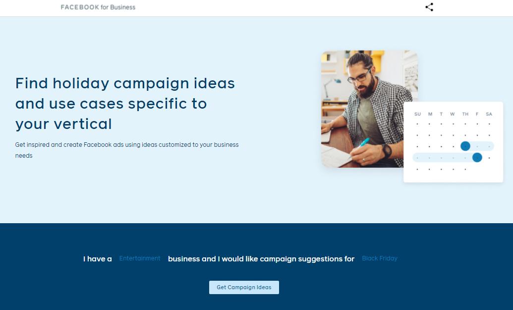 Idées campagnes facebook